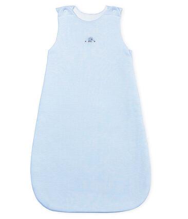 Unisex baby pinstriped sleeping bag