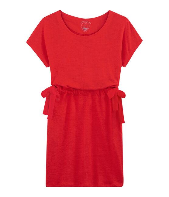 Women's Dress Peps red