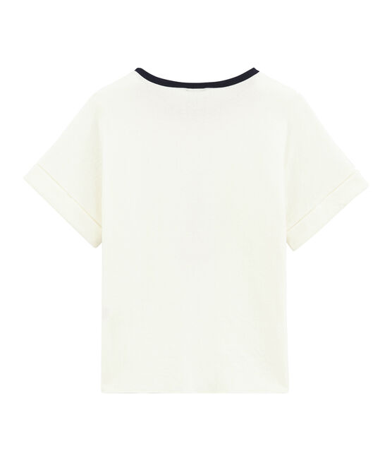 Child's short sleeved tee-shirt Marshmallow white