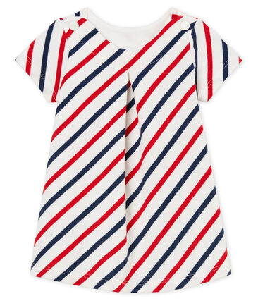 Baby girls' striped dress