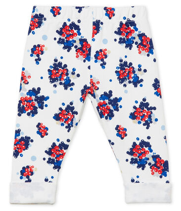 Baby girl's print trousers