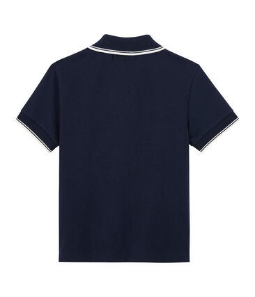 Boys' Polo Shirt Smoking blue