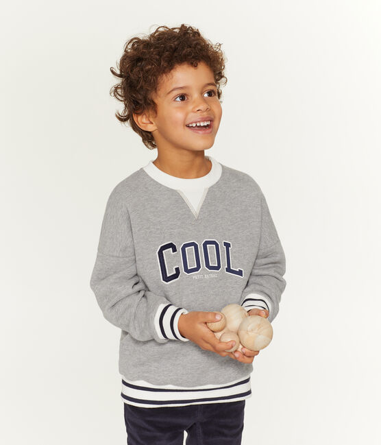 Boy's Sweatshirt Subway grey