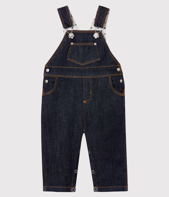 Baby boy's long dungarees Jean blue