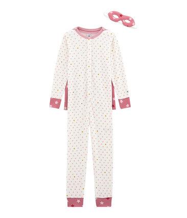 Girls' Outfit Marshmallow white / Multico white