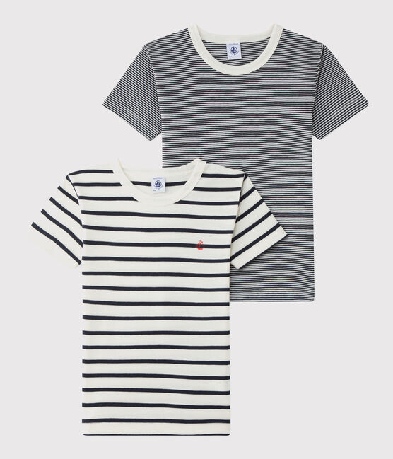 Boys' Striped T-Shirt - 2-Piece Set . set