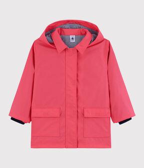 Unisex Children's Raincoat Groseiller pink