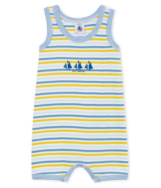 Baby Boys' Shortie Alaska blue / Multico white