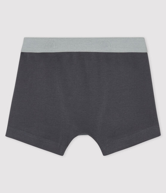 Boys' boxer shorts Maki grey