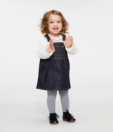 Baby girl's denim dress