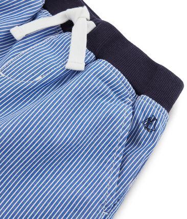 Boys' Bermuda Shorts Surf blue / Ecume white