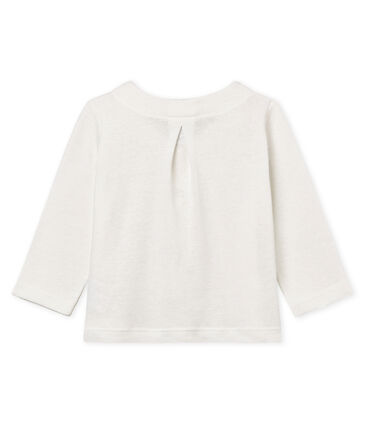 Baby girls' cotton/linen cardigan
