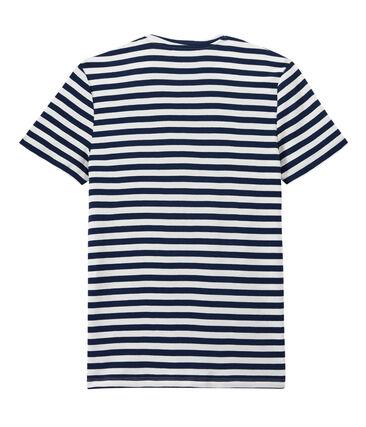 Men's two-tone striped tee