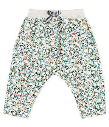 Baby Girls' Printed Fleece Trousers