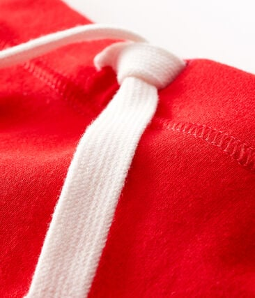 Unisex Baby's Plain Shorts Peps red