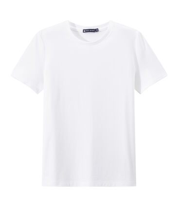 INDISPENSABLE women's fine jersey tee Ecume white