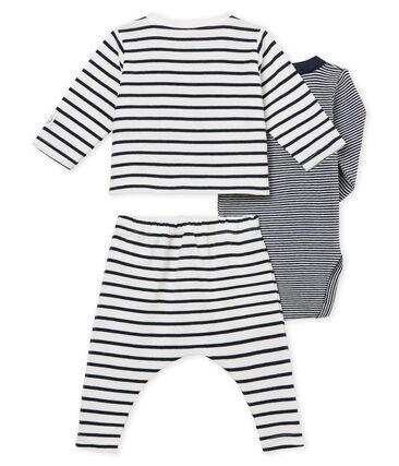 Baby boys' striped clothing - 3-piece set