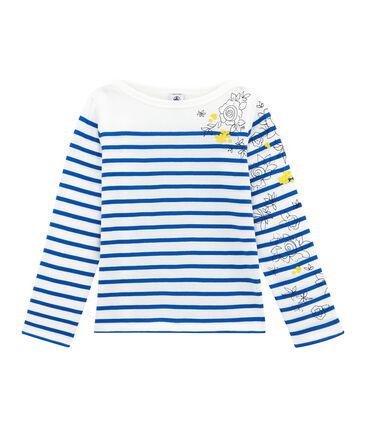 Girl's creative breton top