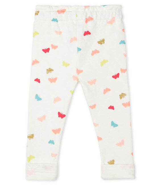 Baby Girls' Print Trousers Marshmallow white / Multico white
