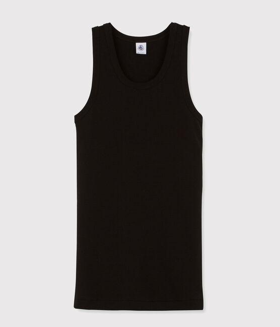 Women's iconic tank top Noir black