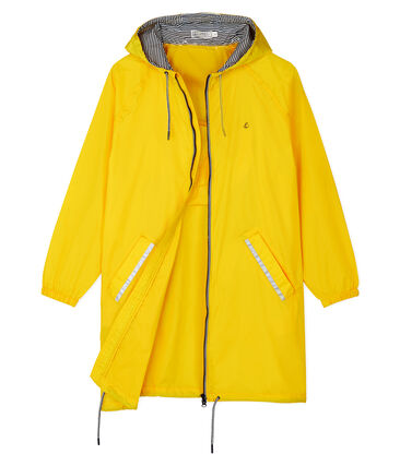 Women's Long Windbreaker Shine yellow