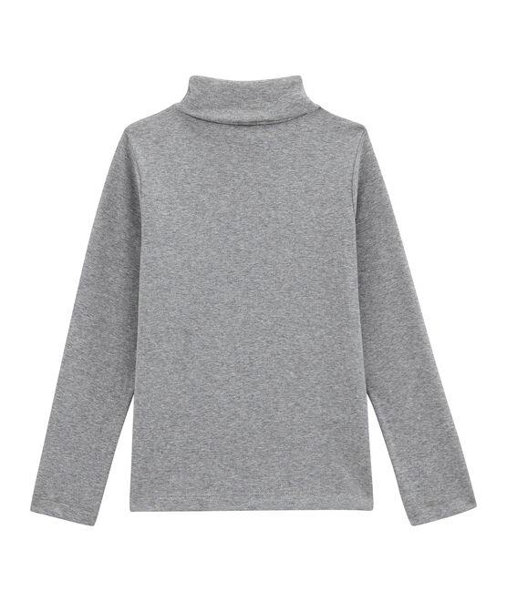 Unisex Children's Plain Undershirt Subway grey
