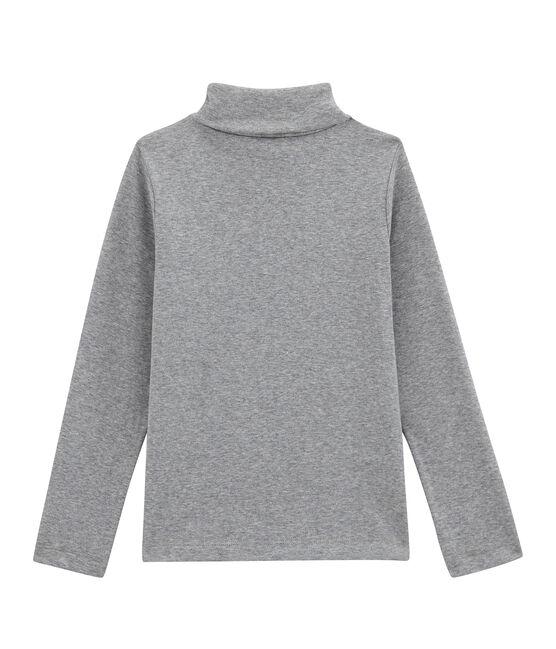 Unisex Children's Plain Undershirt Subway grey