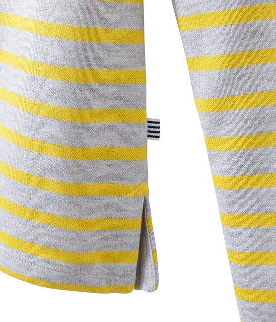 Iconic breton Poussiere grey / Ble yellow