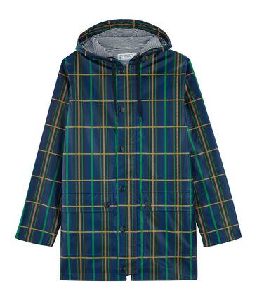 Unisex Raincoat Limoges blue / Multico white