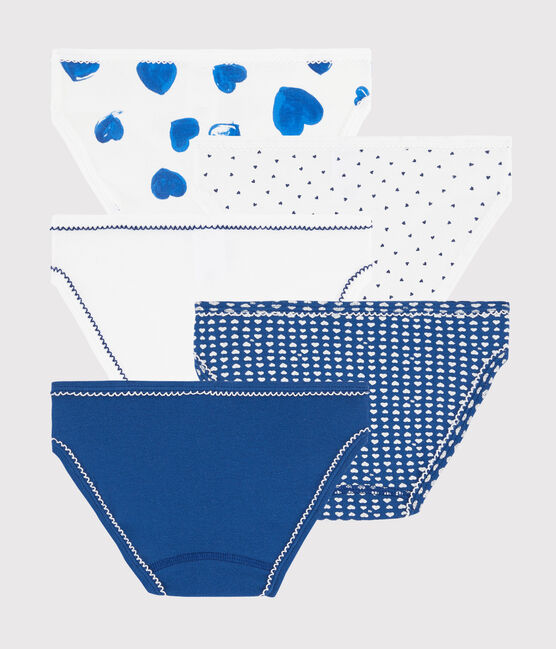 Girls' Heart Knickers - 5-Piece Set . set