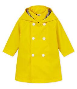 Baby girls' fleece-lined raincoat