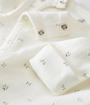 unisex baby's combi sleepsuit in a print tubic