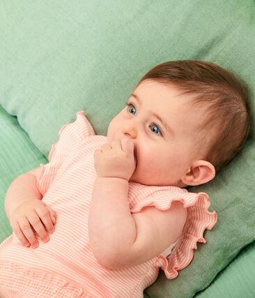 Baby Girls' Pinstriped Dress null