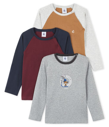 Baby Boys' Long-sleeved T-Shirt - 3-Piece Surprise Set . set