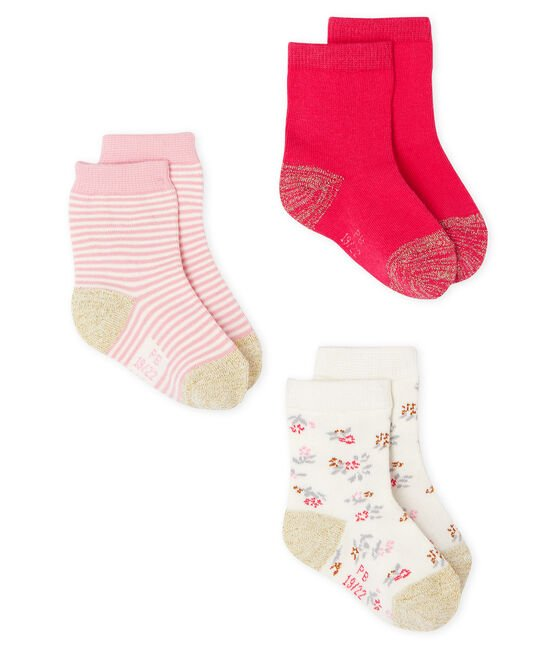 Baby Girls' Socks - 3-Piece Set CHARME