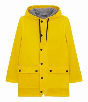 Unisex Iconic Waxed Coat Jaune yellow