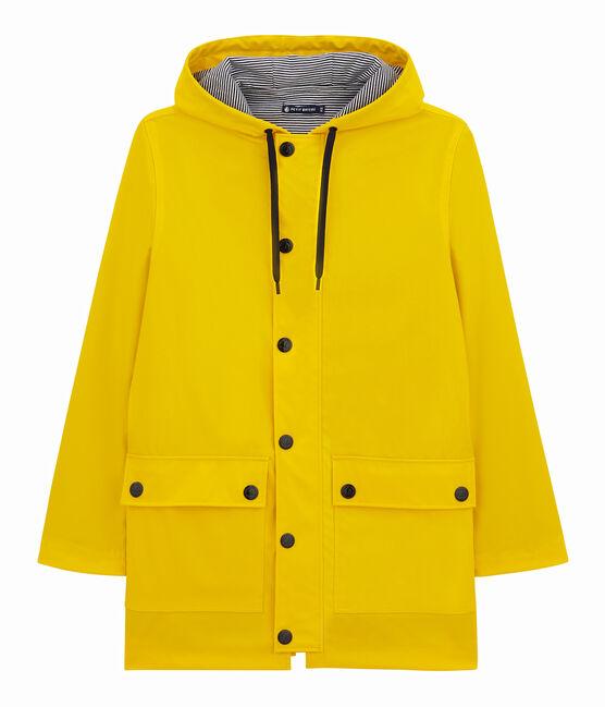Unisex Iconic Waxed Coat Jaune yellow