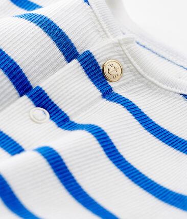 Unisex baby striped cardigan