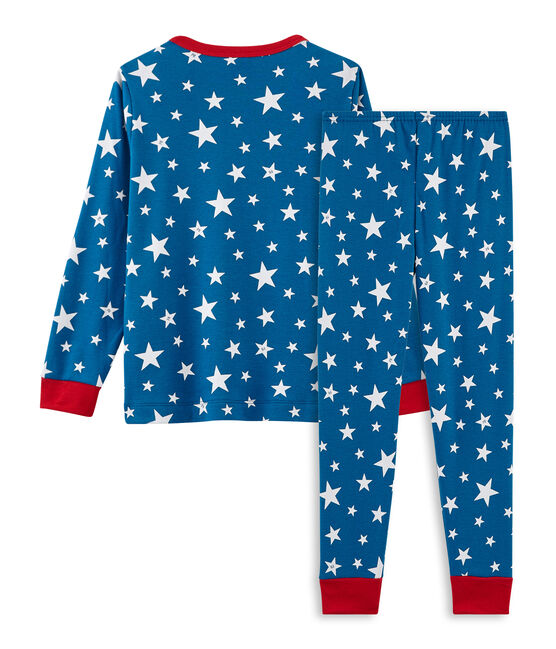 Boys' Pyjamas Major blue / Ecume white