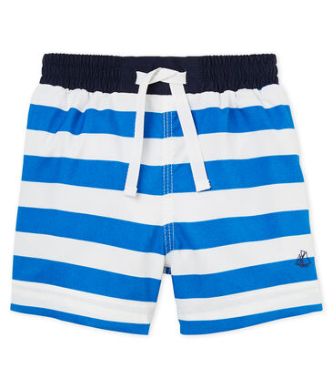 Baby boys' striped beach shorts