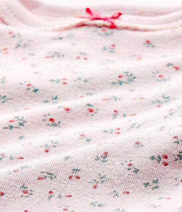 Baby girls' short-sleeved printed bodysuit