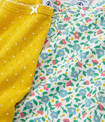Girls' strap vest - Set of 2
