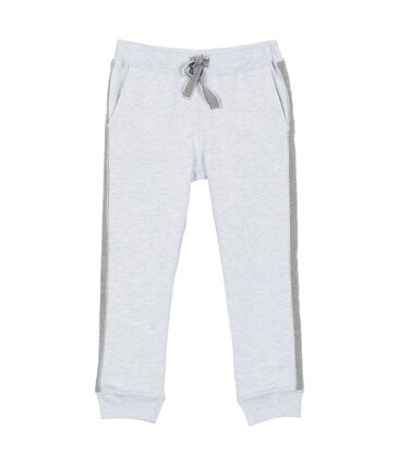 Boy's brushed cotton jogging trousers