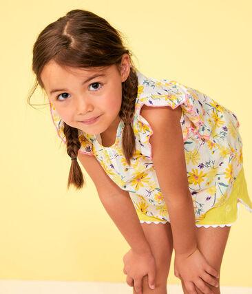 Girls' Bermuda Shorts Eblouis yellow