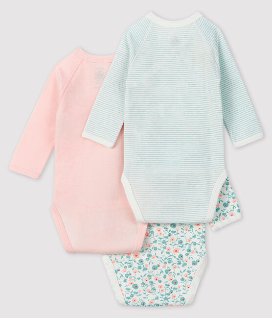 Newborn Babies' Long-Sleeved Bodysuit - 3-Piece Set . set