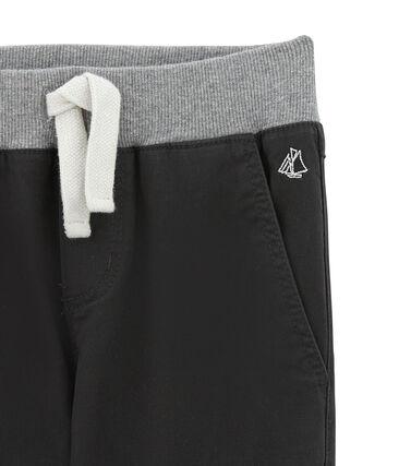 Boy's gabardine trousers