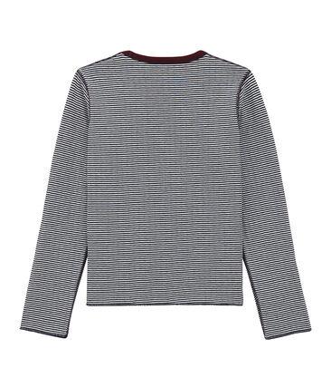 Long sleeved reversible T-shirt