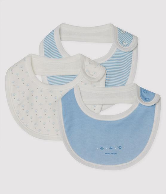 Baby Girls' Rib Knit Bibs - 3-Piece Set . set