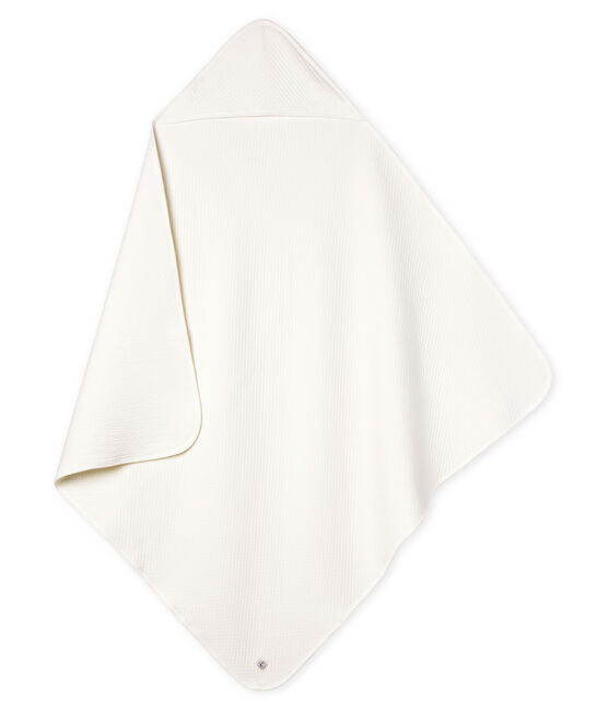 Babies' Tube Knit Blanket Marshmallow white