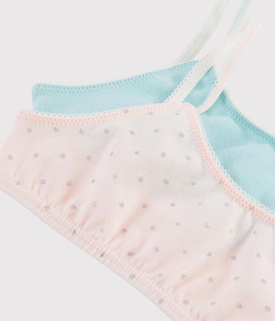 Girls' Glittery Bralettes - 2-Piece Set . set